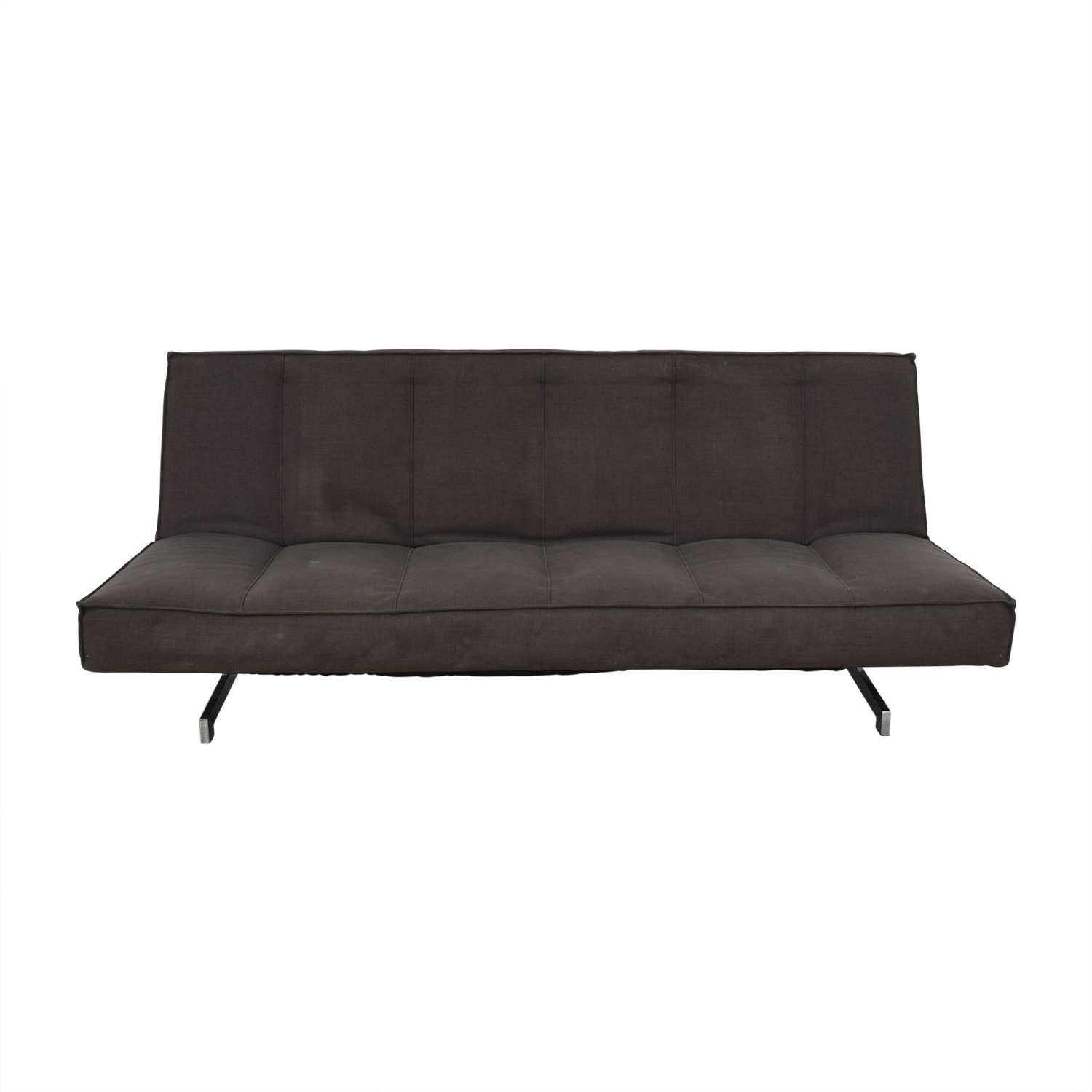 shop CB2 Flex Gravel Sleeper Sofa CB2 Chaises