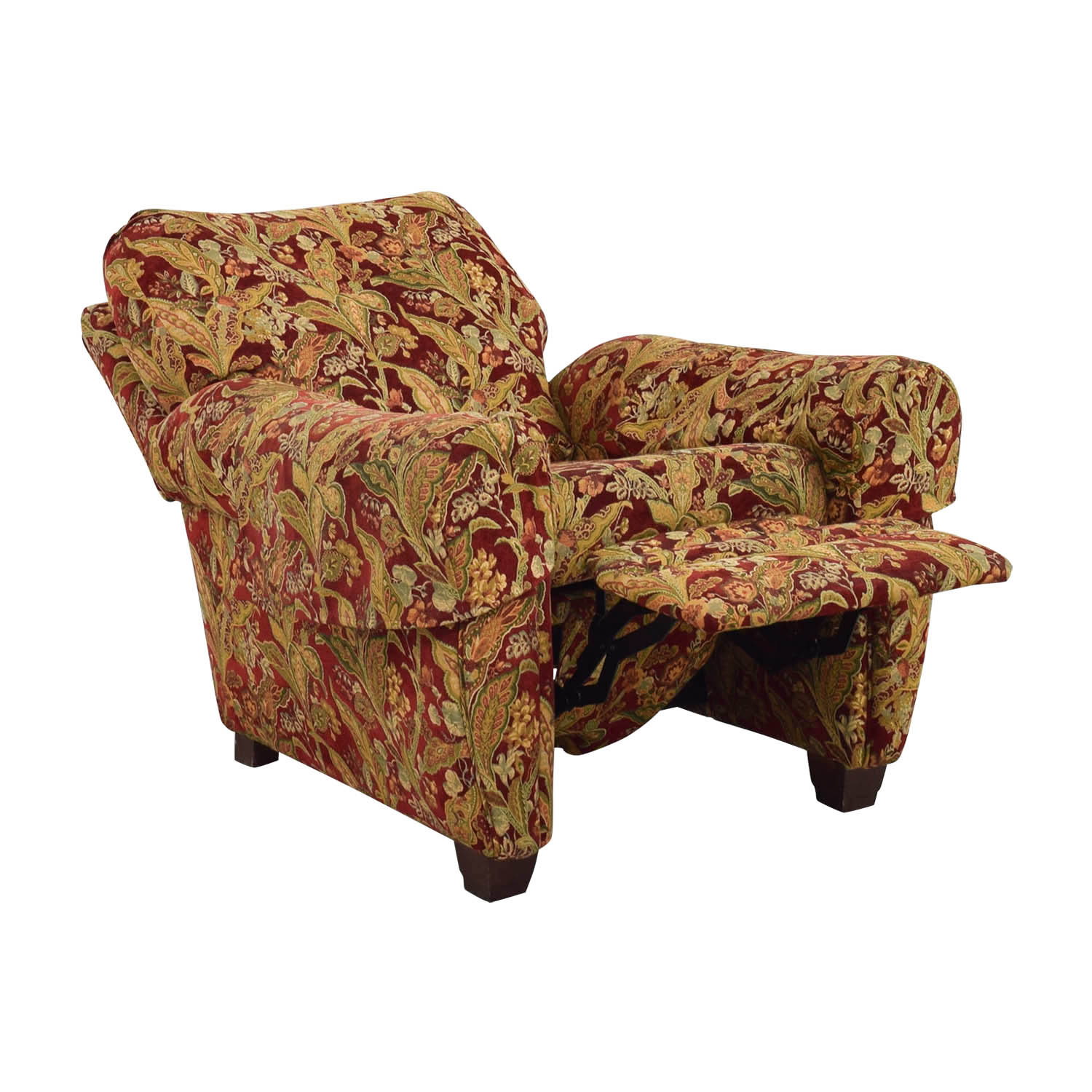 Lazy Boy Lazy Boy Burgundy Floral Recliner coupon