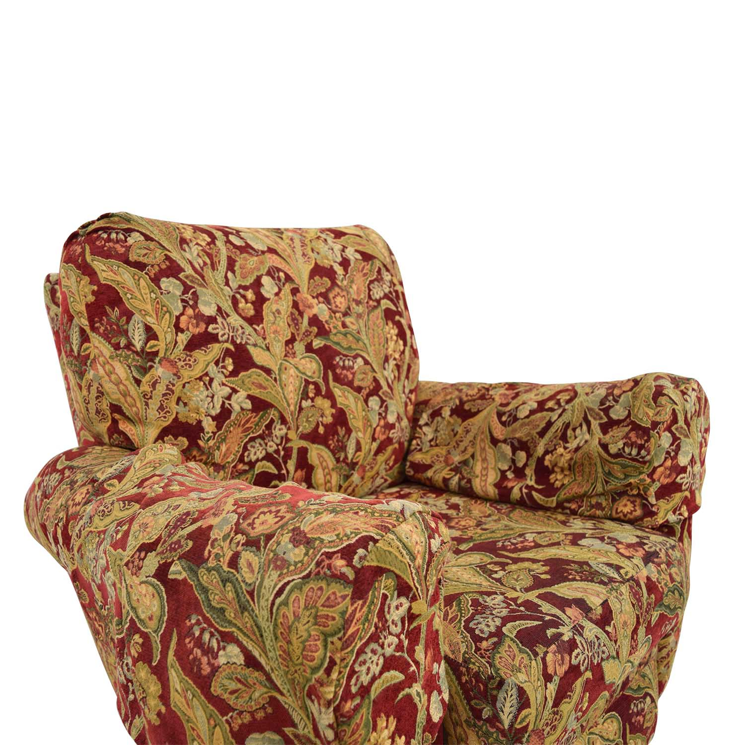 Lazy Boy Burgundy Floral Recliner sale