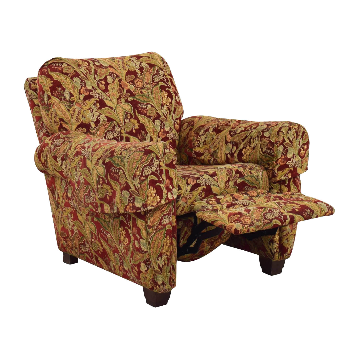 ... Lazy Boy Burgundy Floral Recliner Sale ...