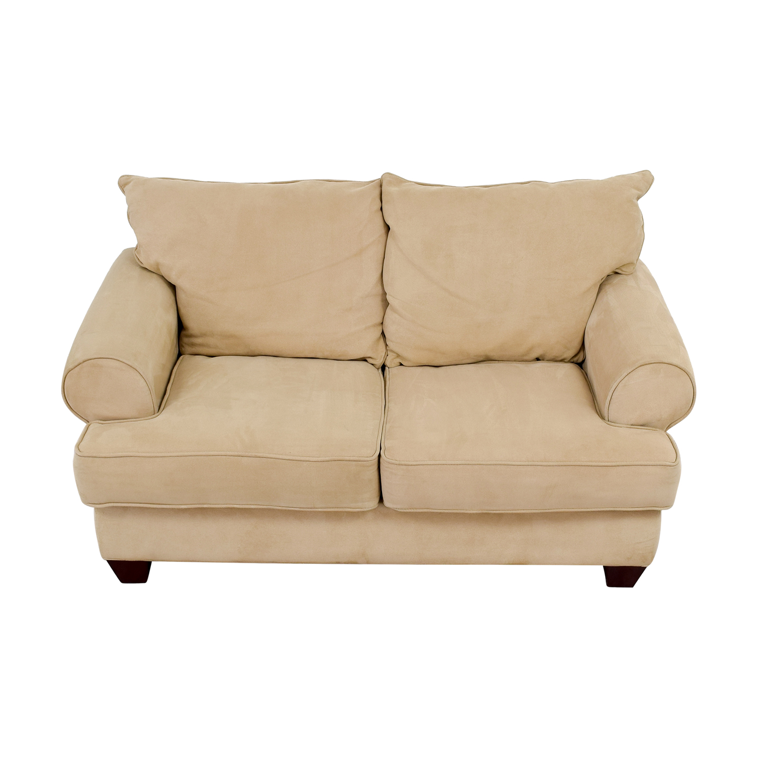 Modern Tan Loveseat discount