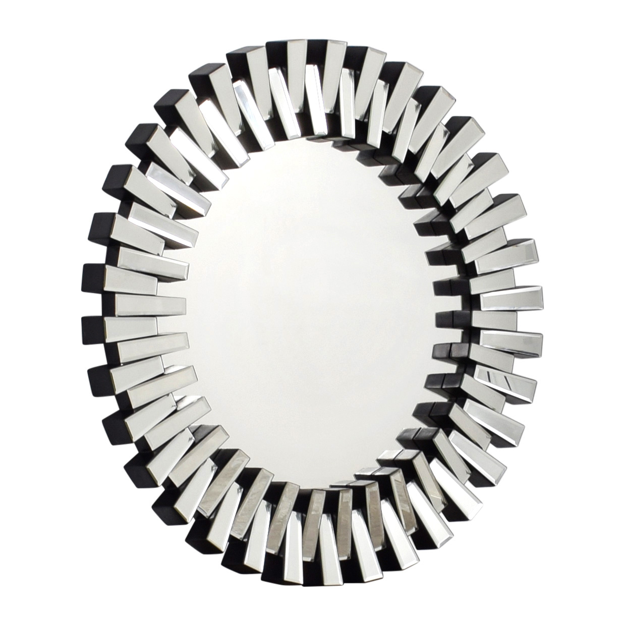 Modani Modani Solaris Wall Mirror Black / Glass
