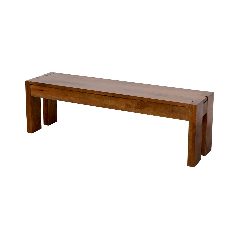 Terrific 71 Off West Elm West Elm Bench Chairs Cjindustries Chair Design For Home Cjindustriesco
