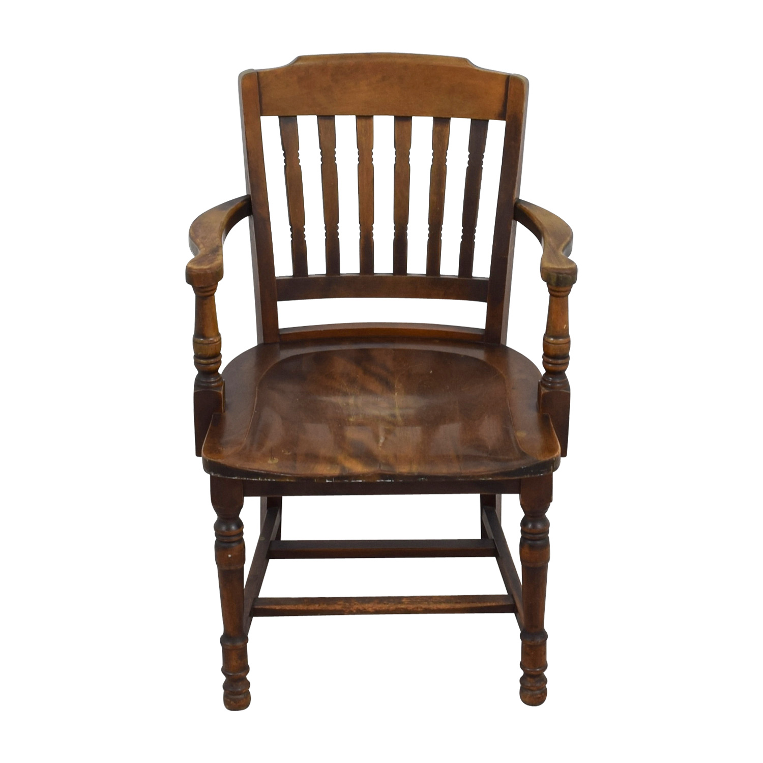 Antique wooden chair furniture