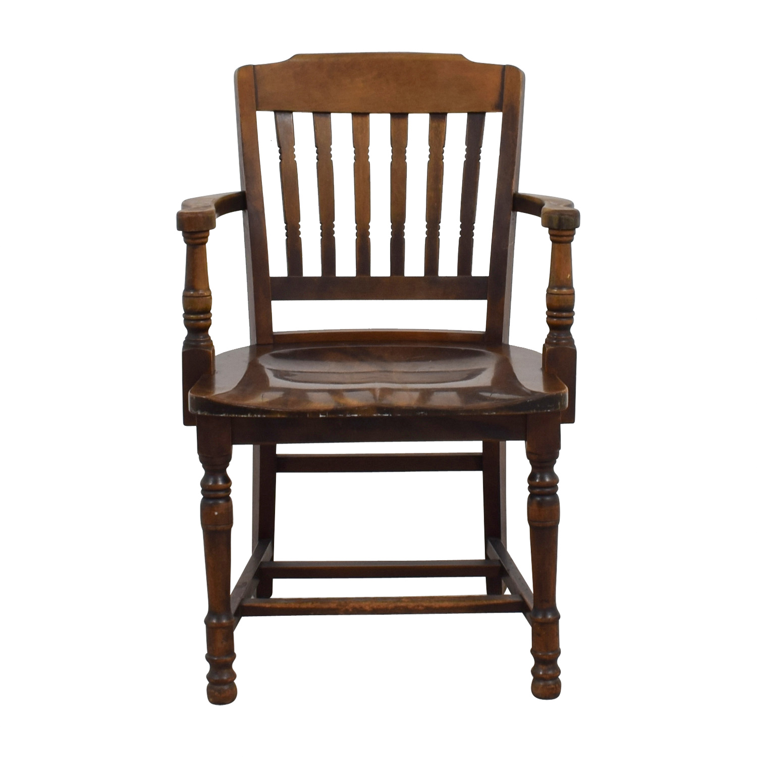 shop Antique Wood Spindel Chair Chairs