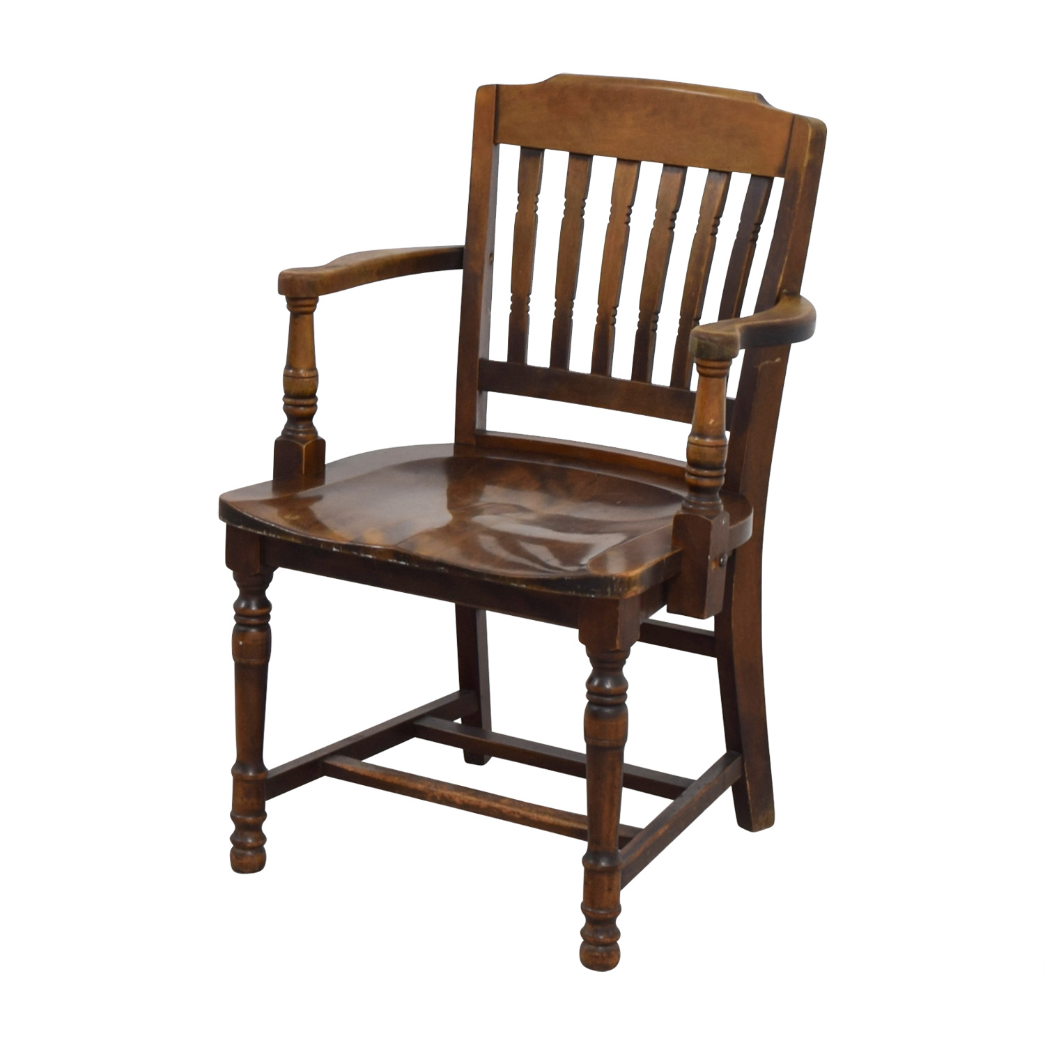 shop Antique Wood Spindel Chair online