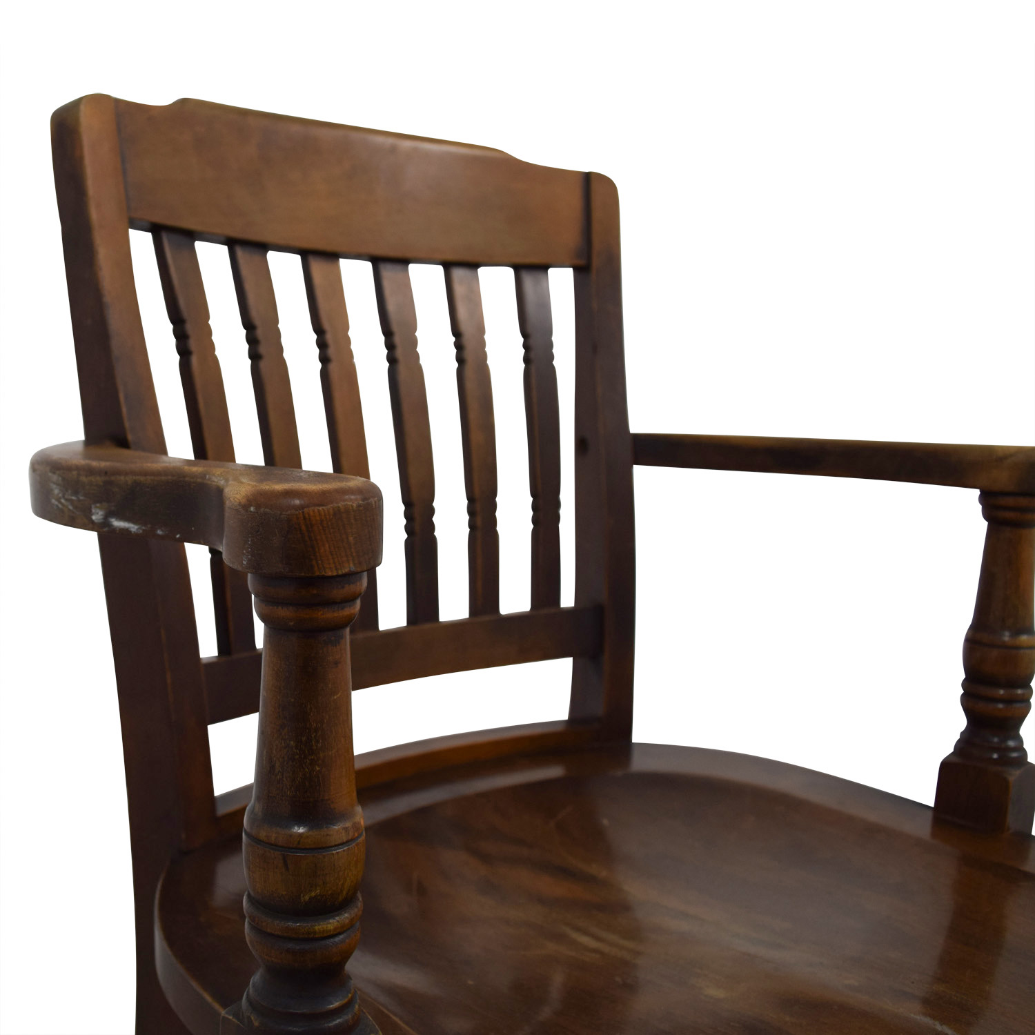 buy Antique Wood Spindel Chair