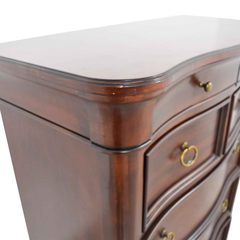 Wooden Seven Drawer Dresser used