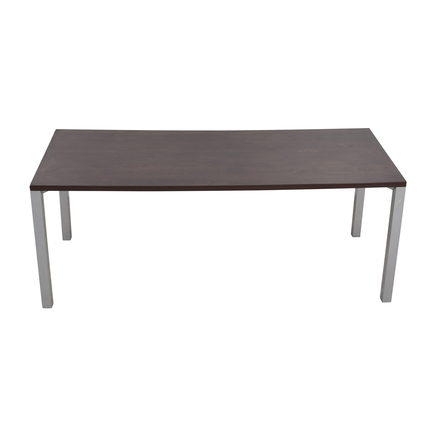 Steelcase Steelcase Currency Martin Desk Brown / Silver
