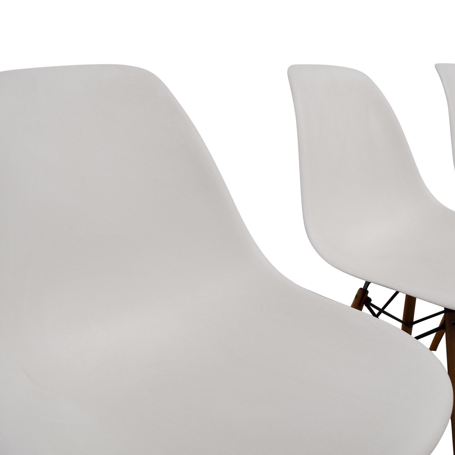 Eames Molded Plastic Side Chairs nyc
