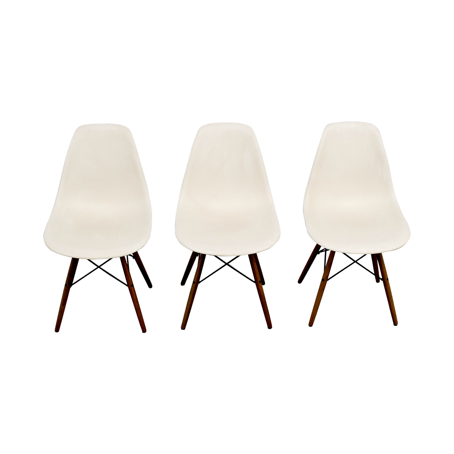Eames Molded Plastic Side Chairs sale