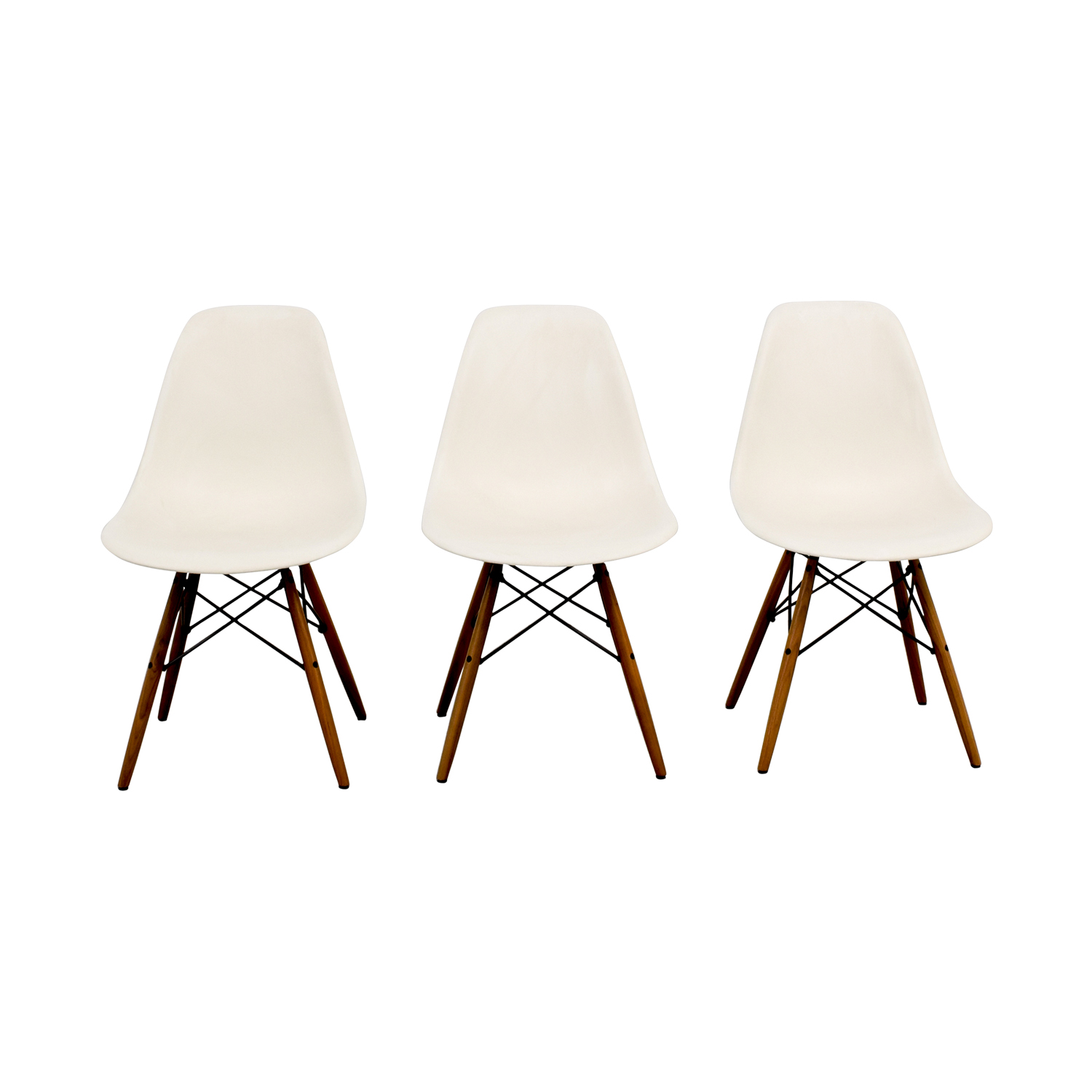 Eames Molded Plastic Side Chairs / Accent Chairs