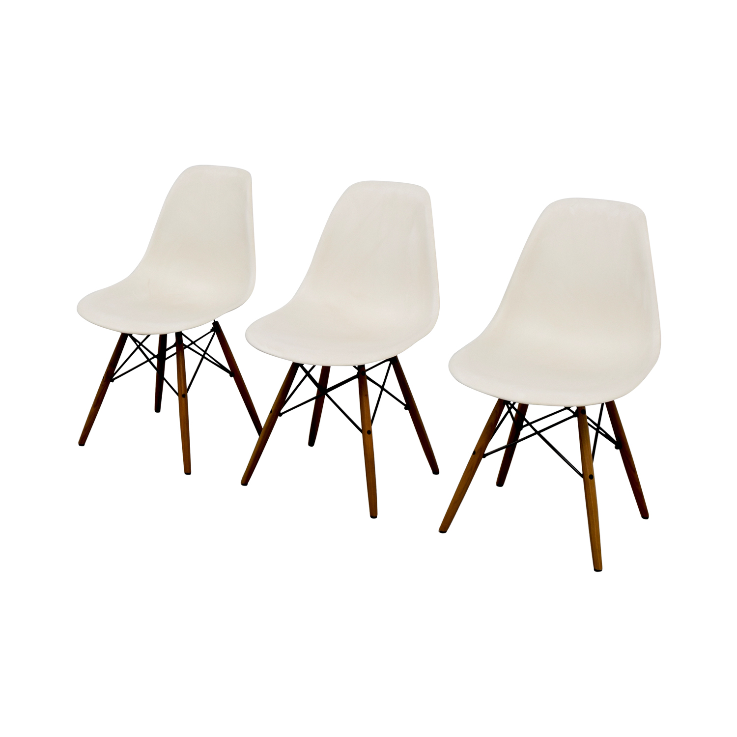 Eames Molded Plastic Side Chairs coupon