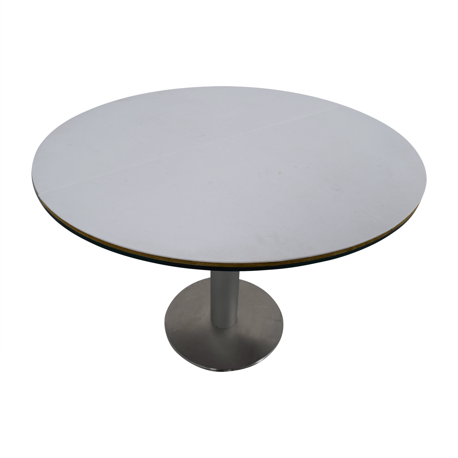 Stua Design Furniture Stua Design Furniture Zero Glass and Chrome Table second hand