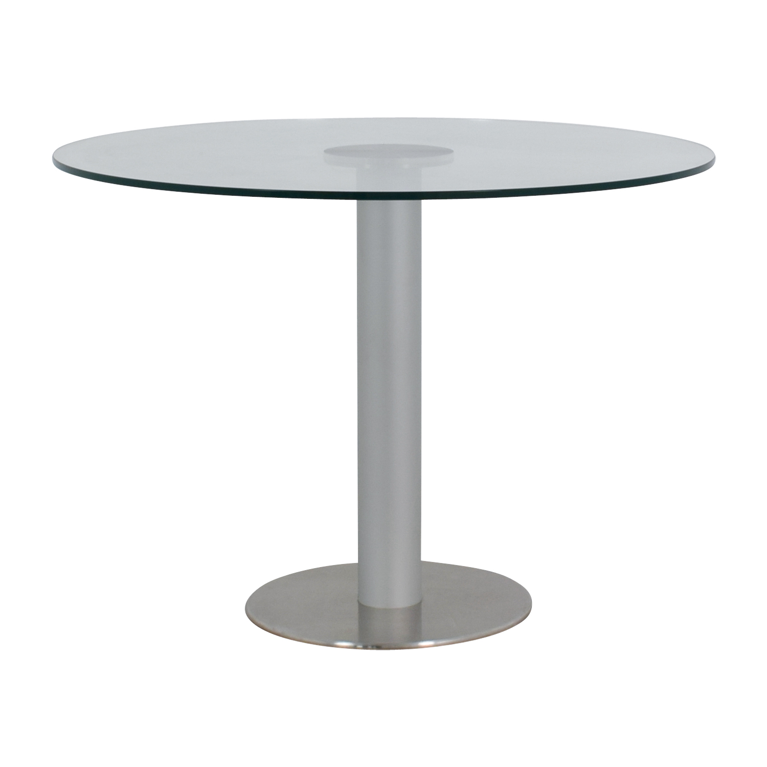 shop Stua Design Furniture Zero Glass and Chrome Table Stua Design Furniture Dinner Tables