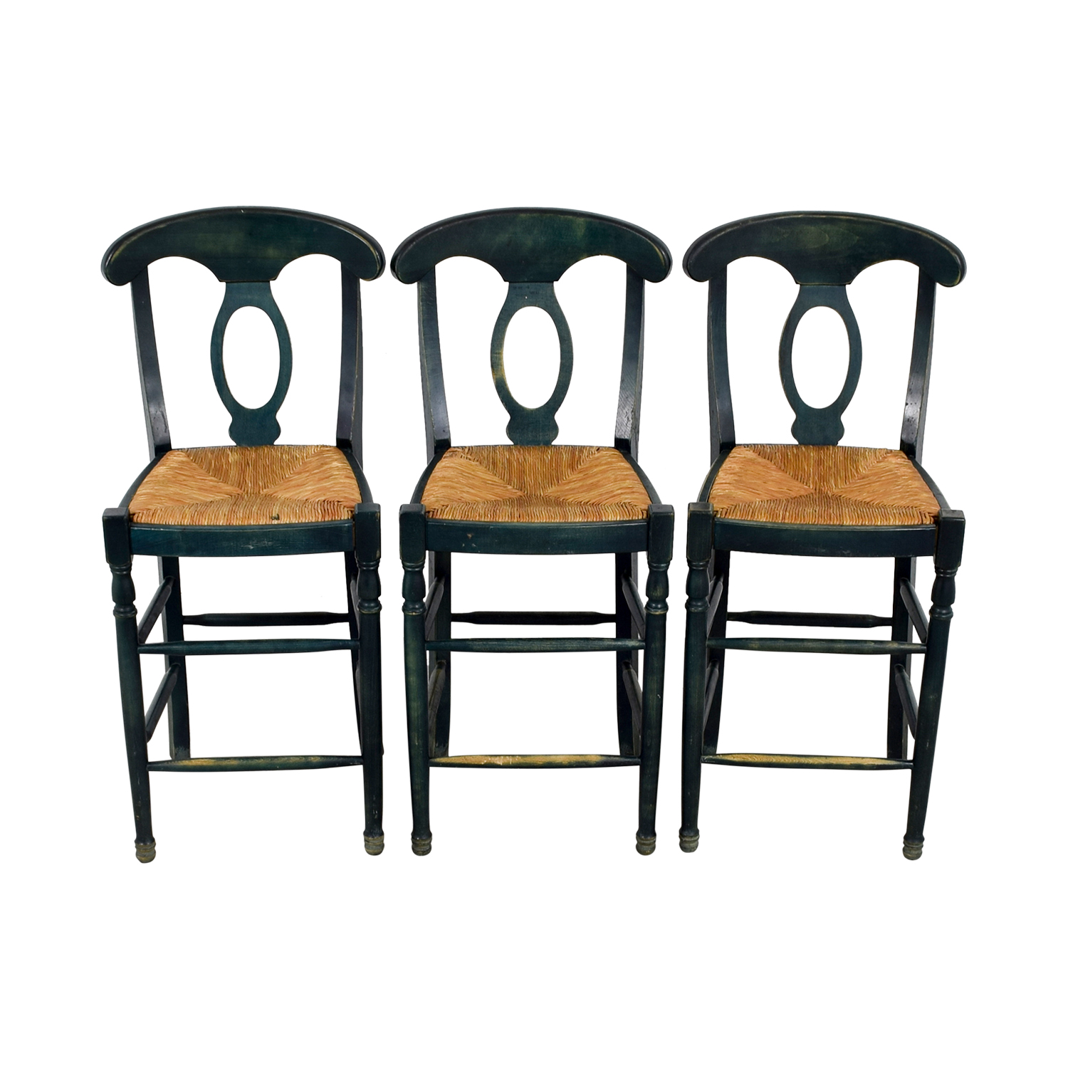 ABC Carpet ABC Carpet Wicker Barstools Chairs