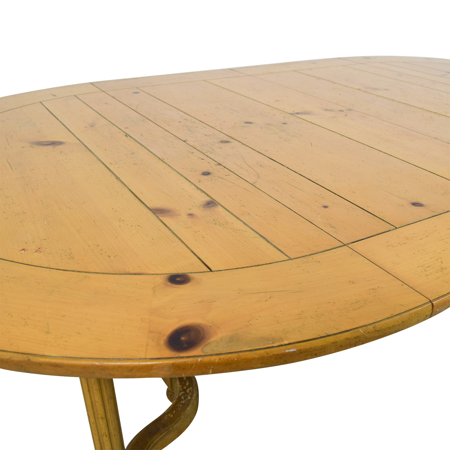 shop Milling Road Natural Round Table with Leaf Milling Road Dinner Tables