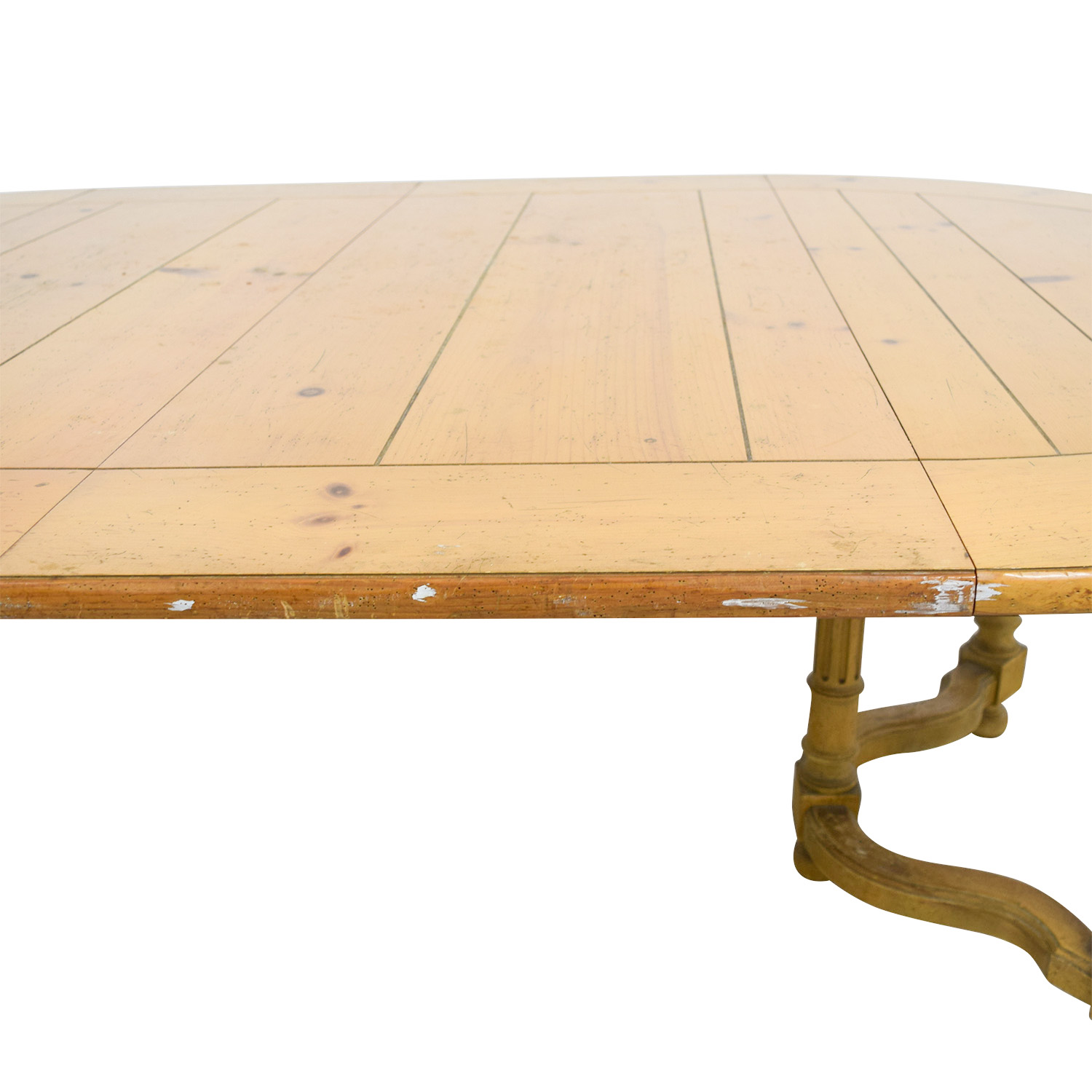 Milling Road Natural Round Table with Leaf sale