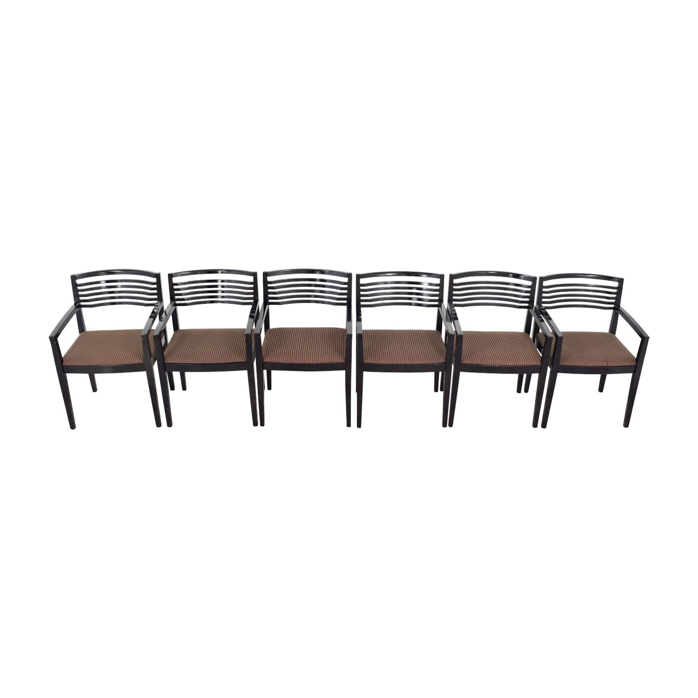 KnollStudio KnollStudio Black Joe Chairs for sale
