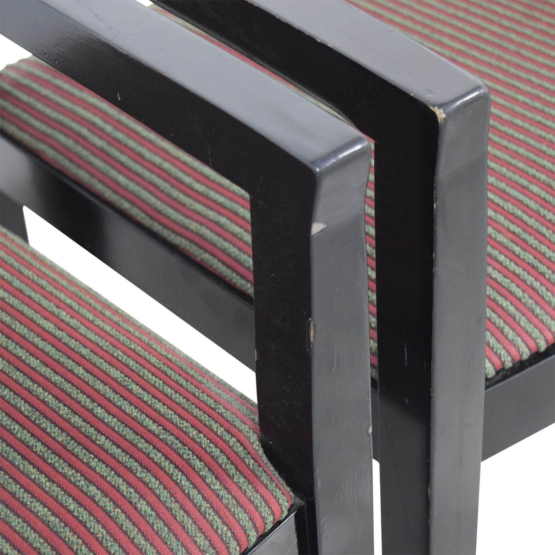KnollStudio Black Joe Chairs / Home Office Chairs