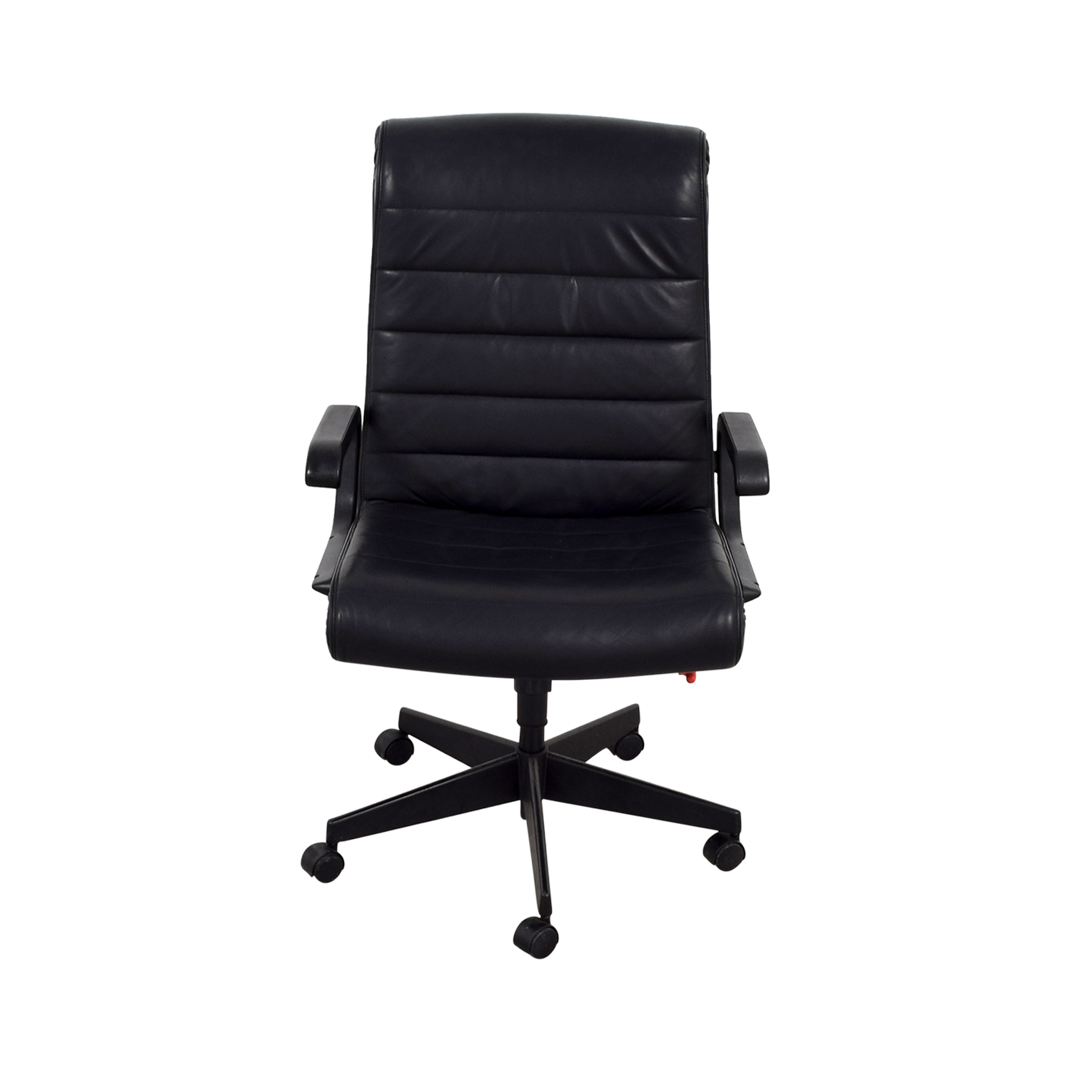 Black Leather fice Chairs Leather fice Chair Black Decorating