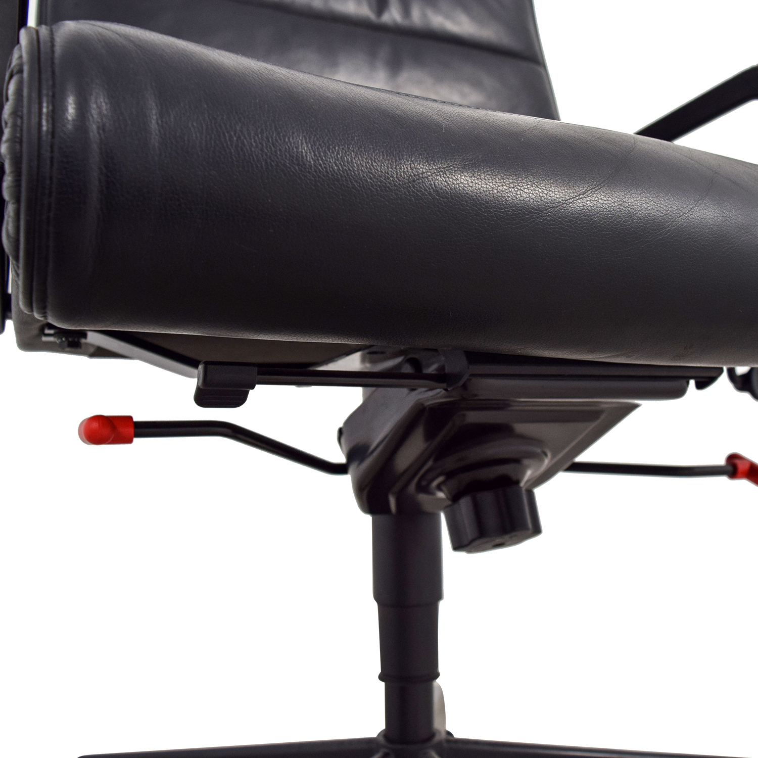 Black Leather Office Chair / Chairs