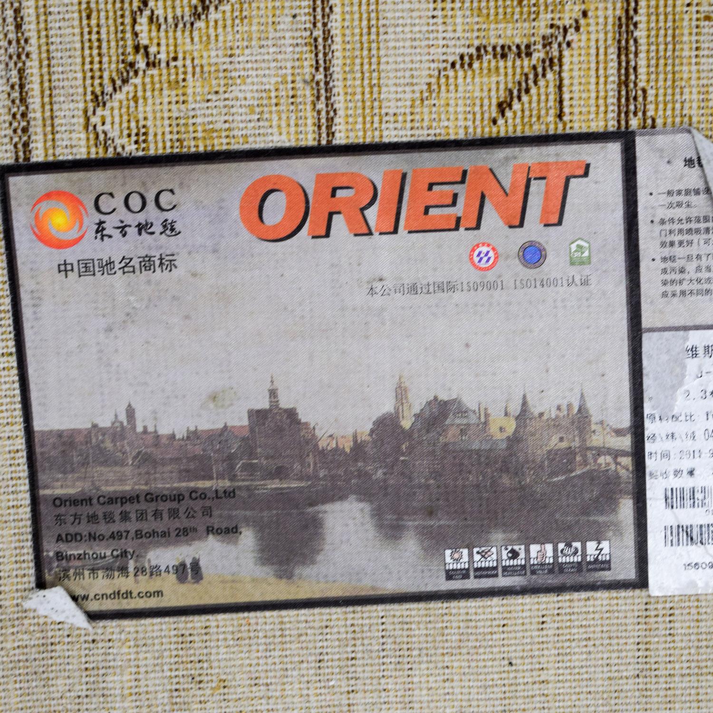 Orient Beige Floral Rug sale