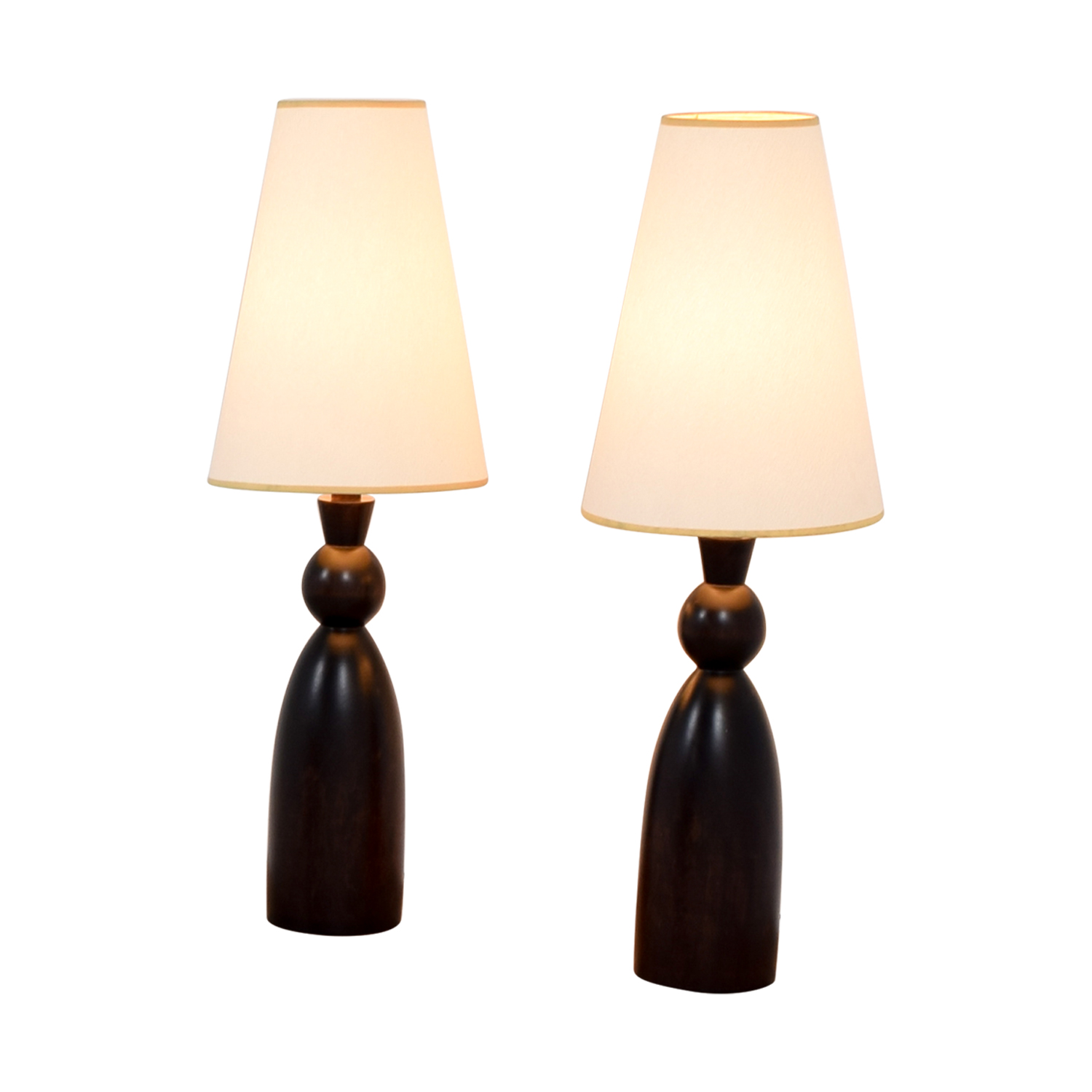 ... Ethan Allen Ethan Allen Mahogany Table Lamps For Sale ...