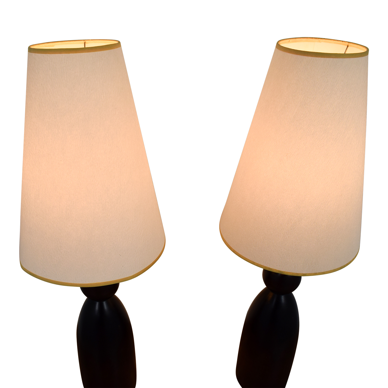 buy Ethan Allen Mahogany Table Lamps Ethan Allen