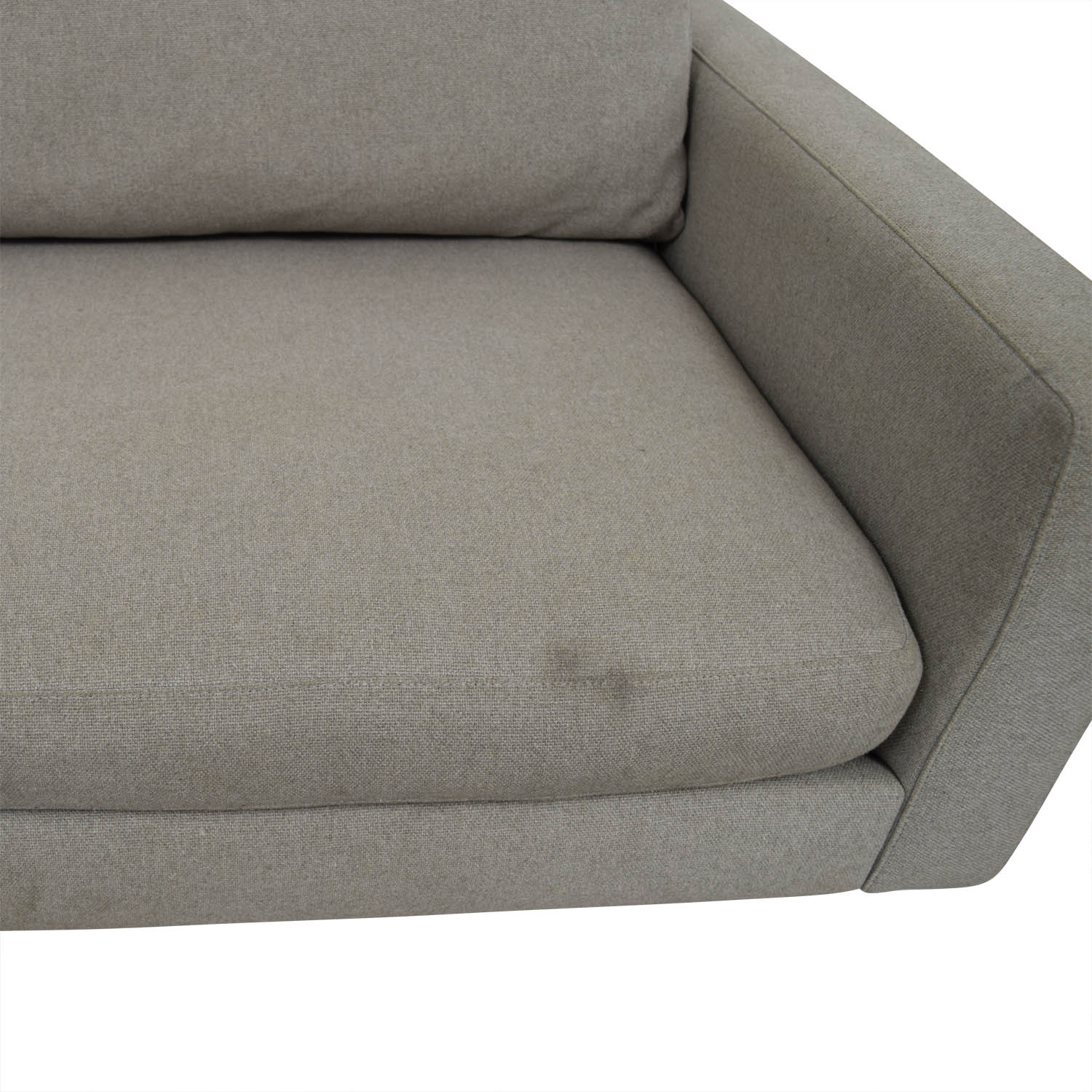 buy Room & Board Beige Hess Two-Cushion Sofa Room & Board