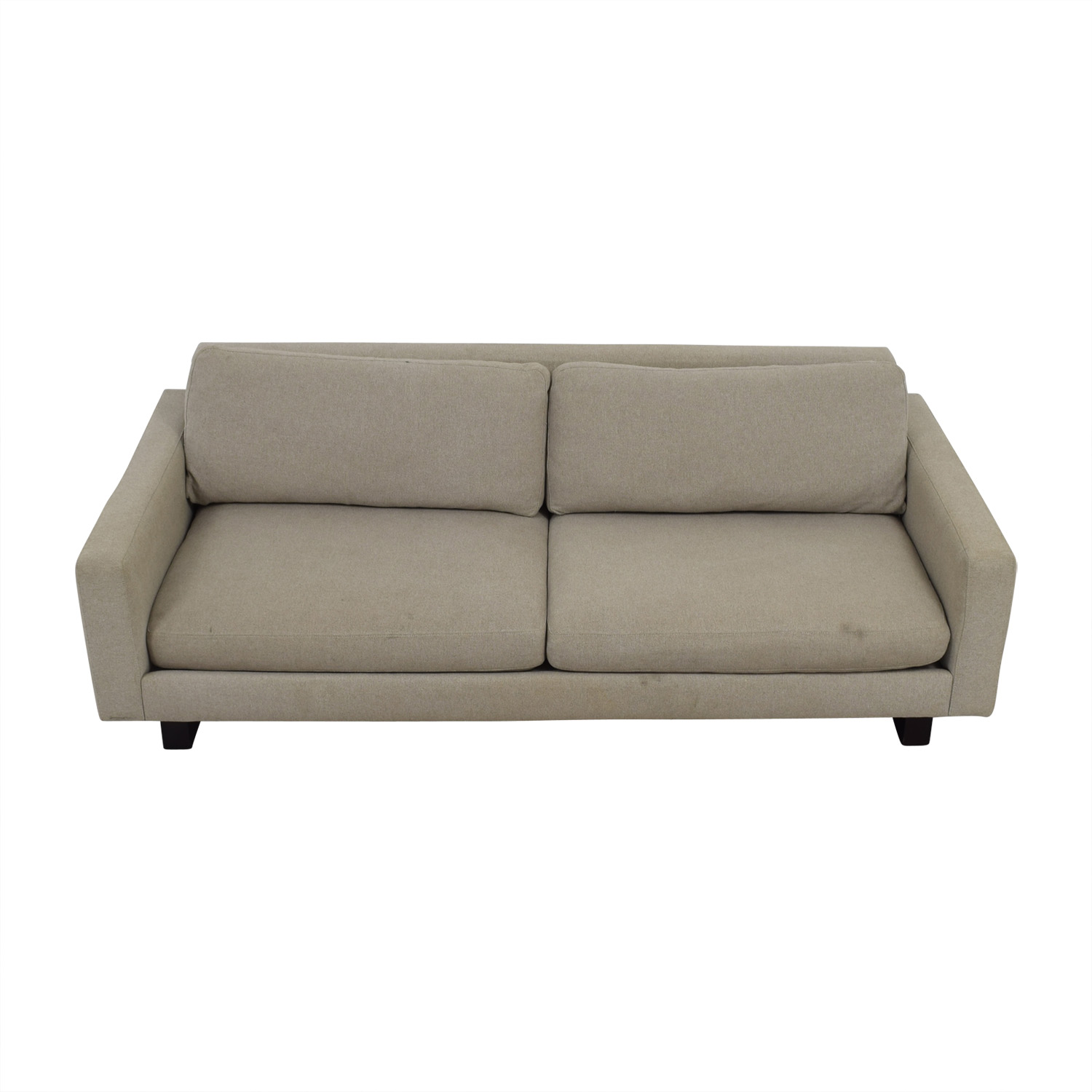 buy Room & Board Beige Hess Two-Cushion Sofa Room & Board Sofas