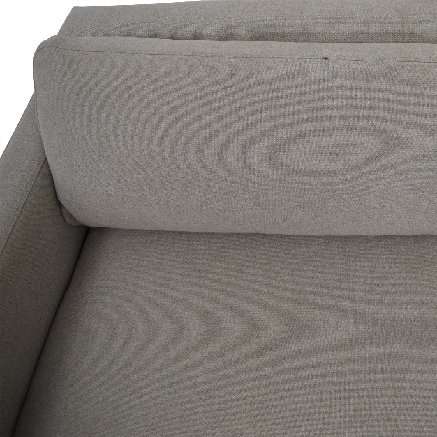 Room & Board Room & Board Beige Hess Two-Cushion Sofa second hand