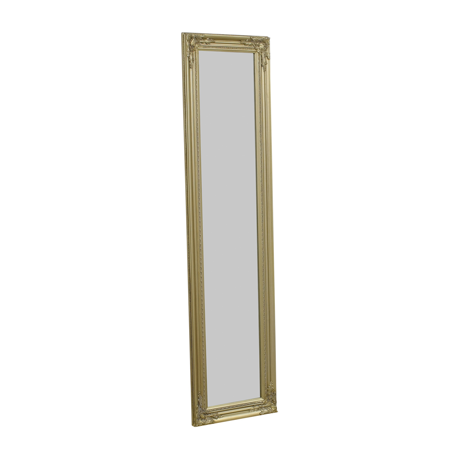 shop Full Length Ornate Gold Mirror