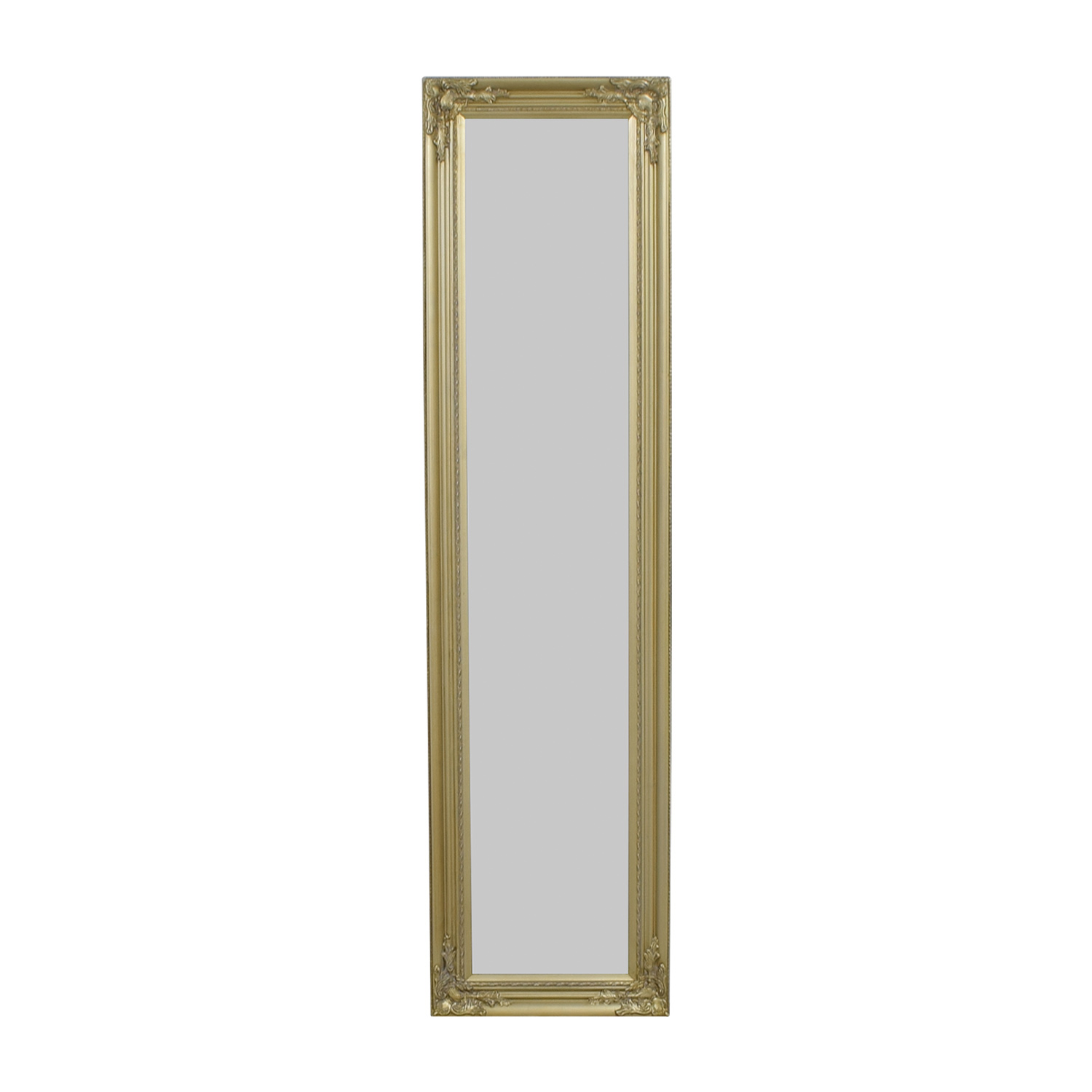 Full Length Ornate Gold Mirror