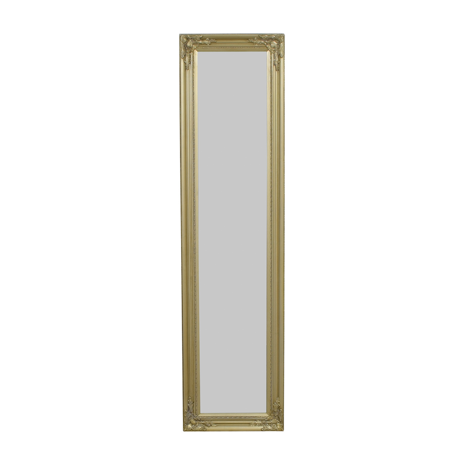 Full Length Ornate Gold Mirror nj