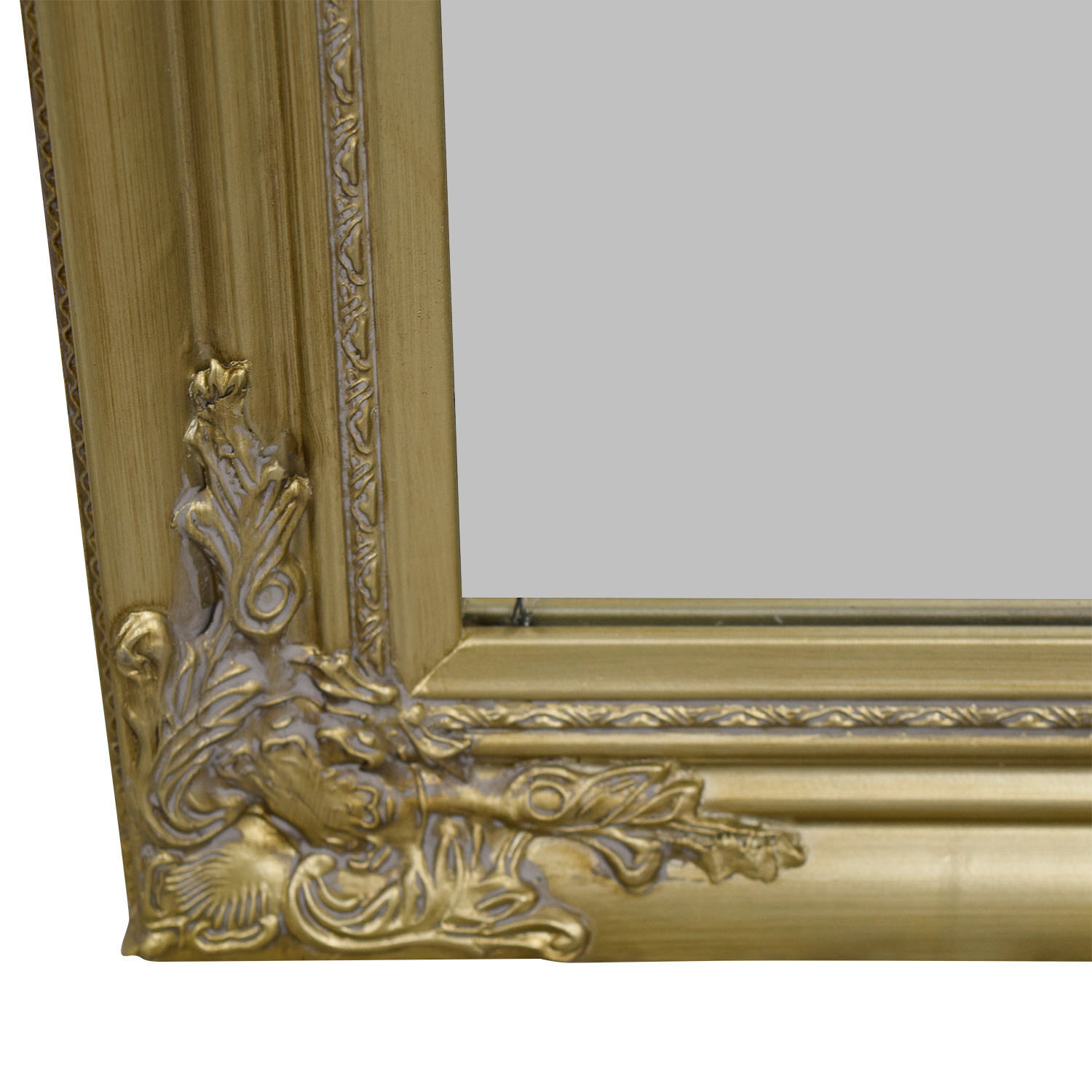 shop Full Length Ornate Gold Mirror Mirrors