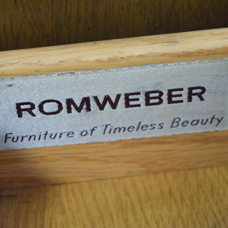 Romweber Romweber Nightstand with Storage nj
