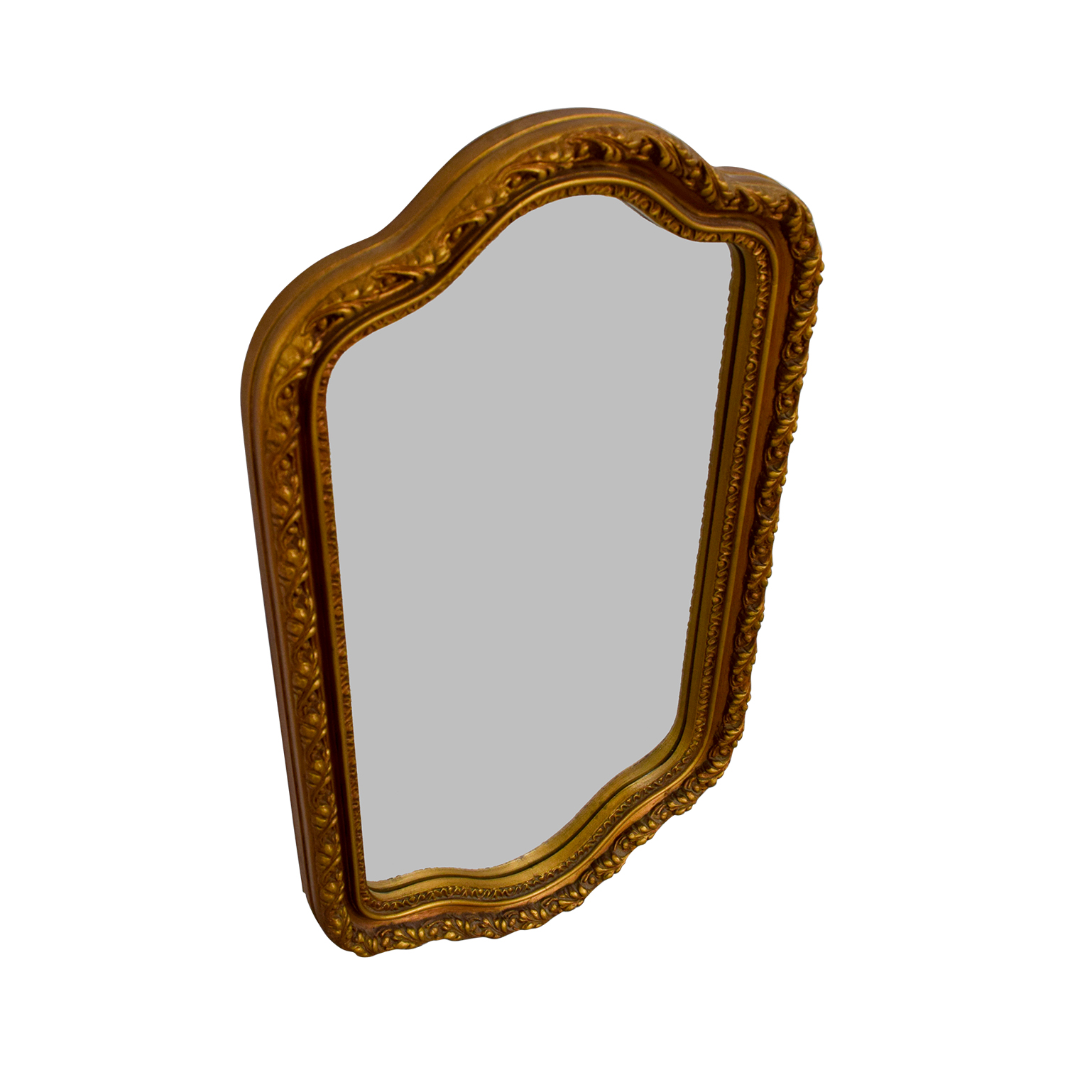 Crown Crown Gold Painted Wood Framed Mirror coupon