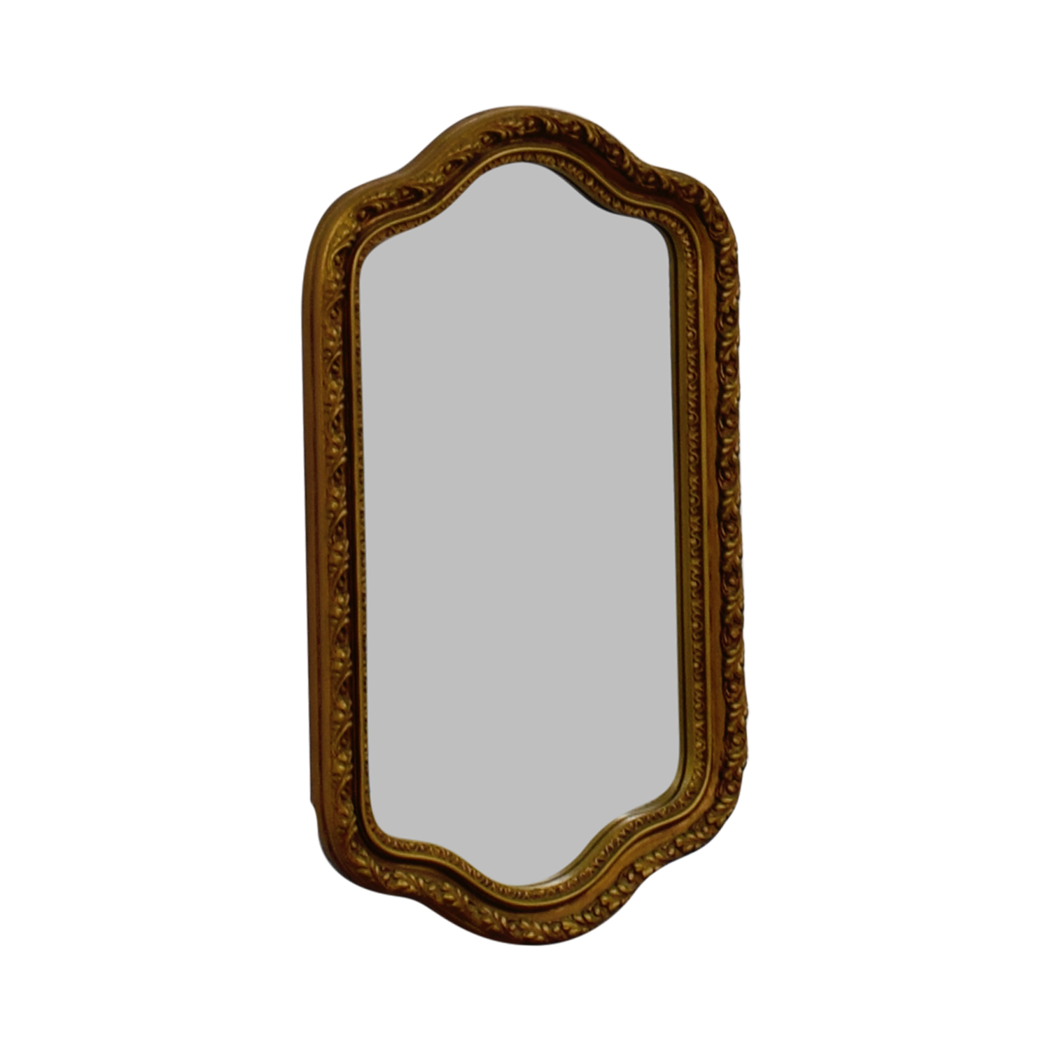 shop Crown Crown Gold Painted Wood Framed Mirror online