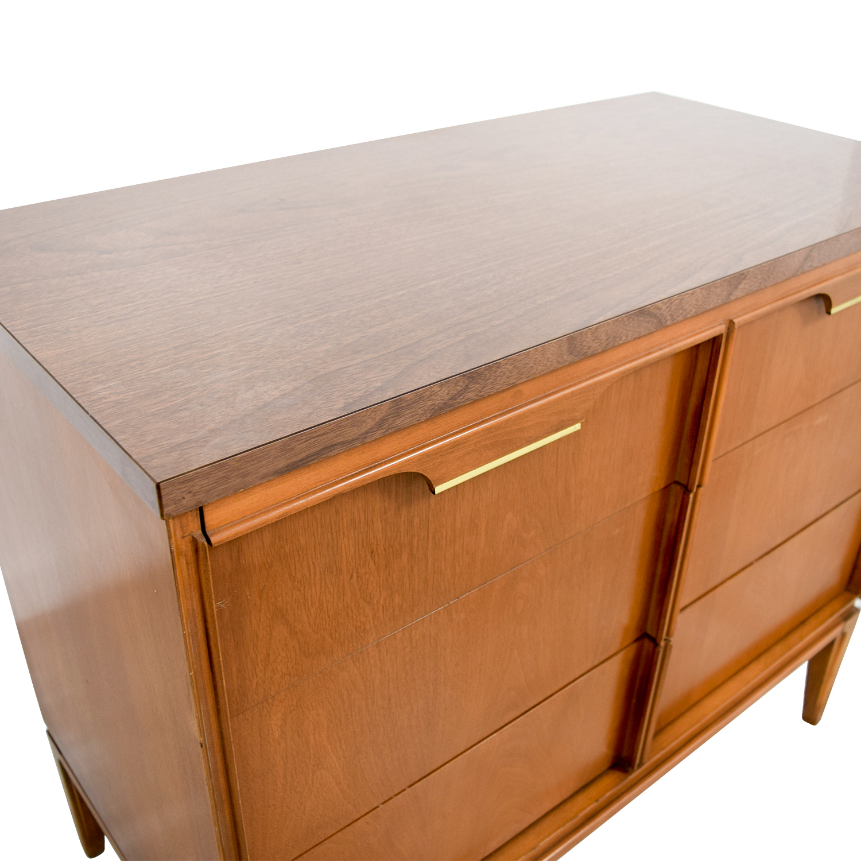 Basic-Witz Basic-Witz Six Drawer Wood Veneer Contemporary Dresser coupon