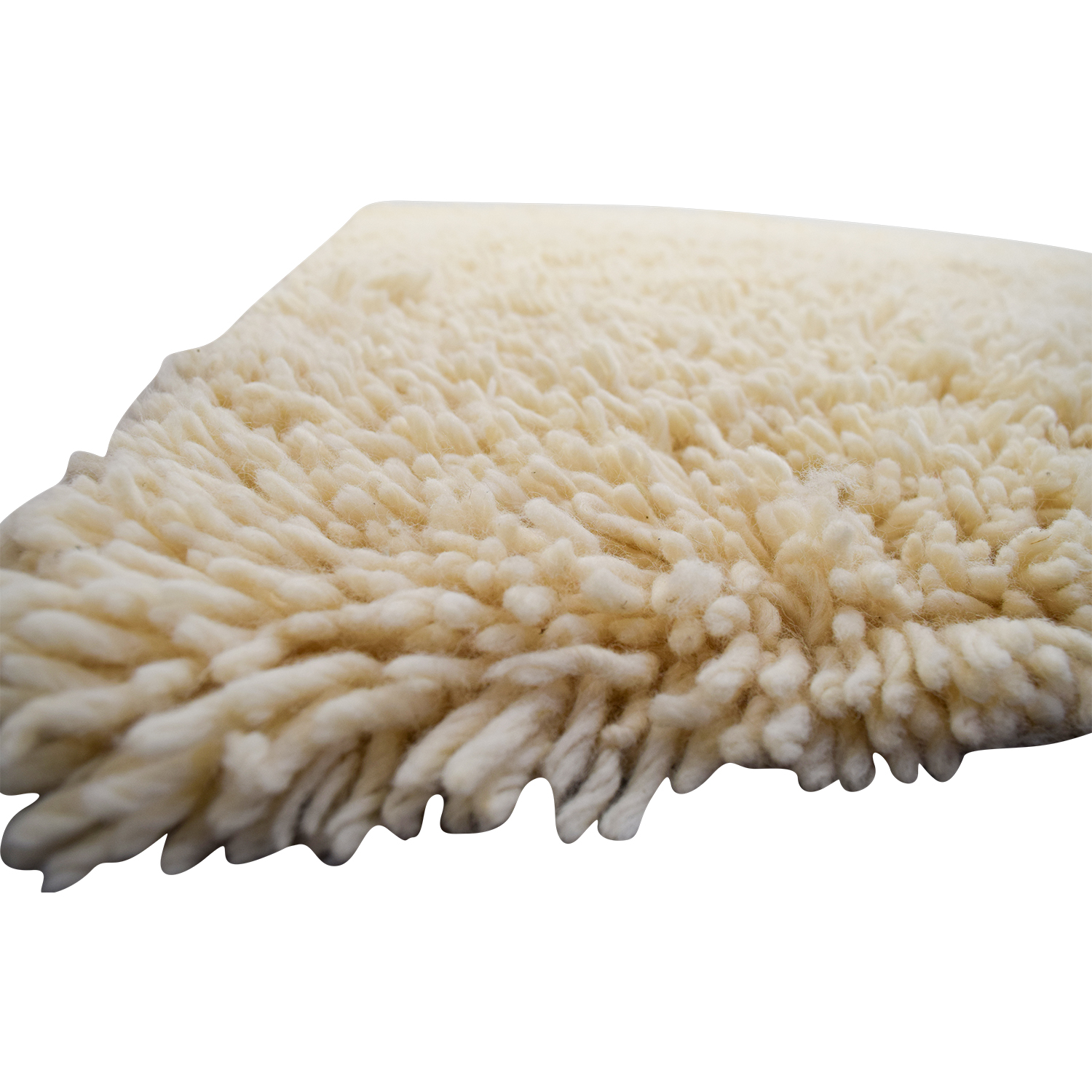 Antrim Rugs Cream Wool Calculator Shag Rug / Rugs