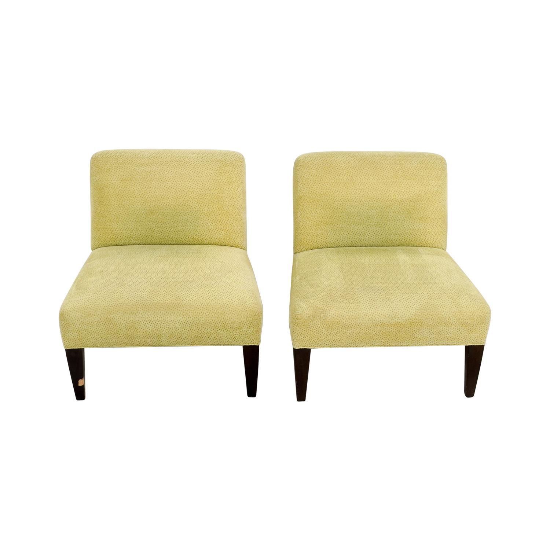 shop Custom Yellow Club Chairs online