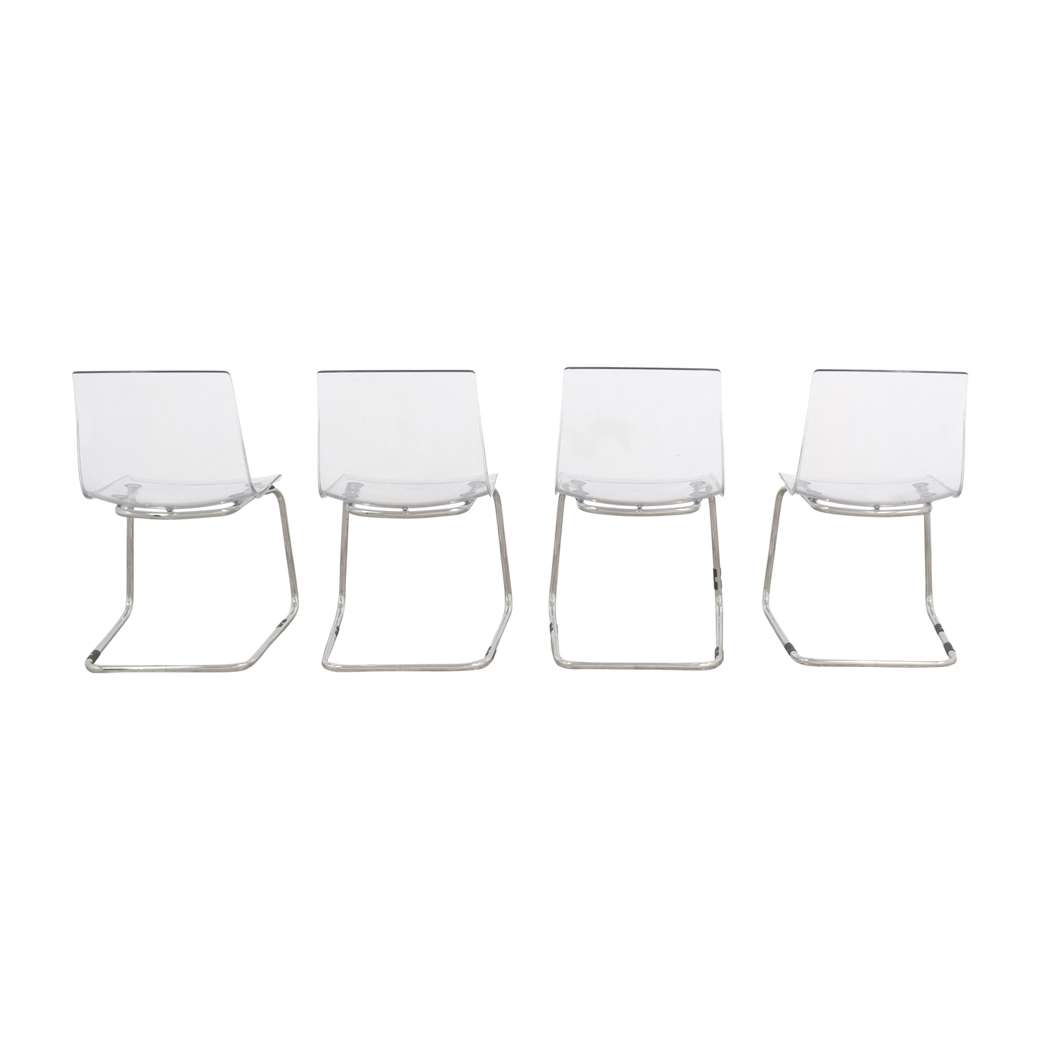 IKEA IKEA Tobias Ghost Chairs Dining Chairs