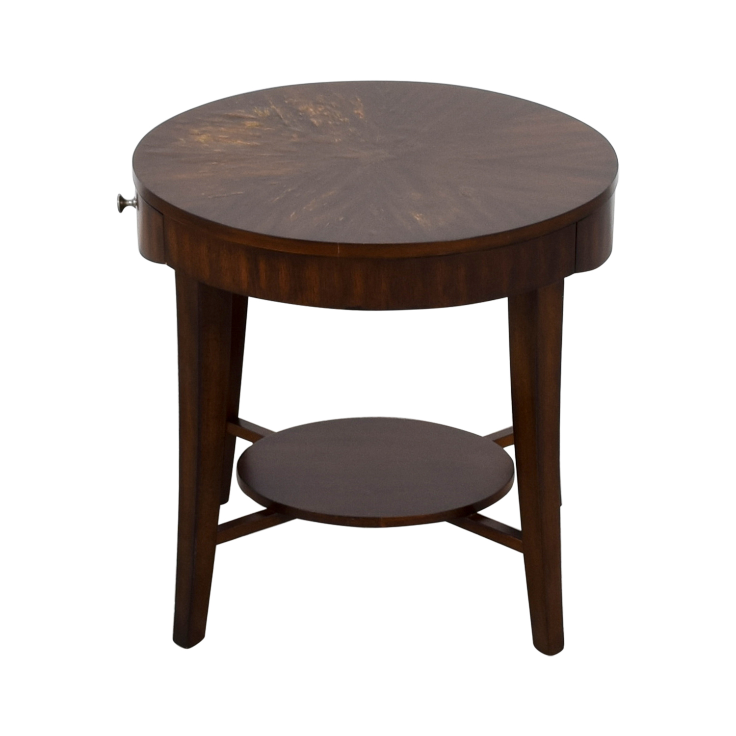 Raymour and Flannigan Raymour and Flanigan Round Side Table nyc
