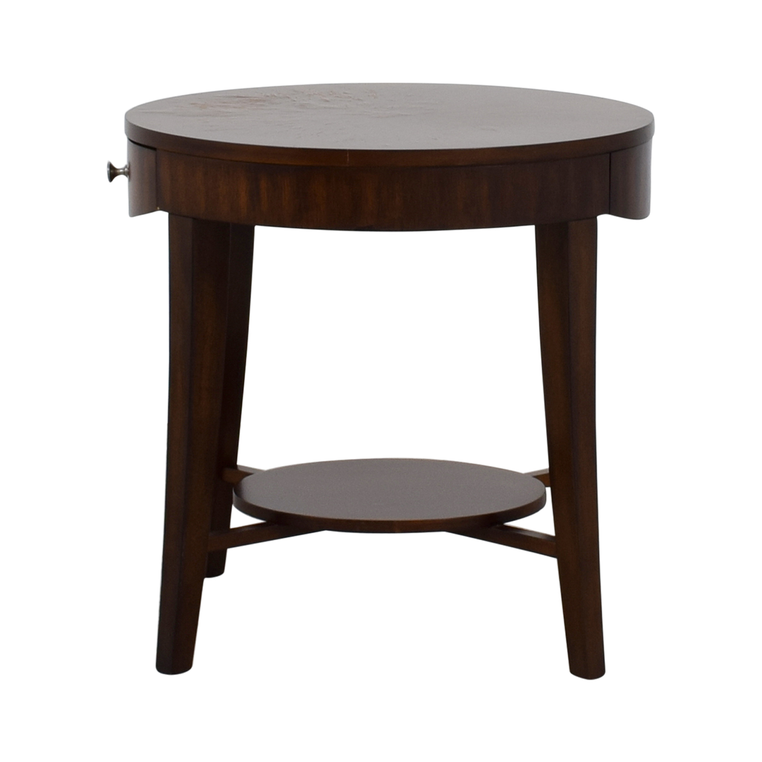Raymour and Flannigan Raymour and Flanigan Round Side Table second hand
