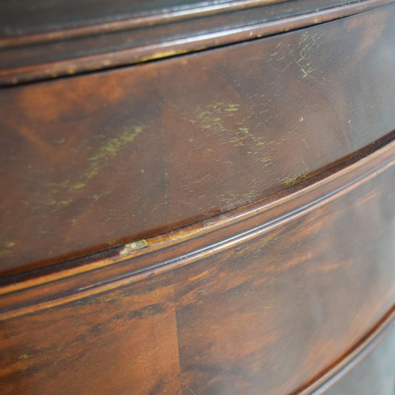 1940s Antique Flame Mahogany Four-Drawer Dresser price