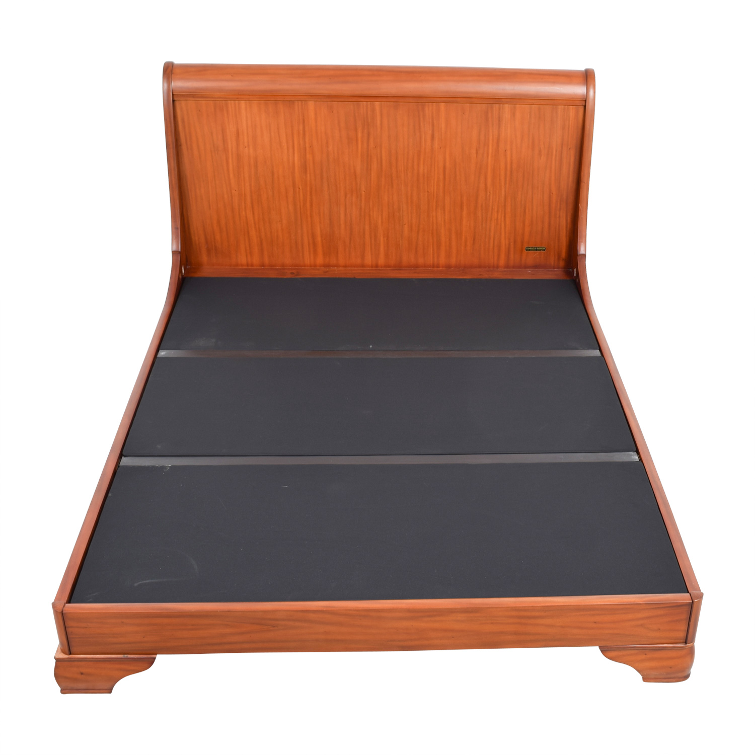 Charles P. Rogers Queen Wood Bed Frame / Bed Frames