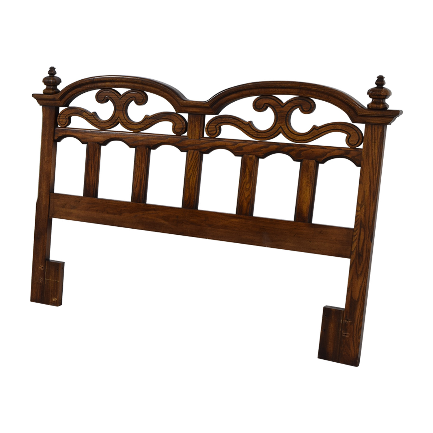 buy American Drew Solid Oak Cut-Out Carved Headboard American Drew Beds