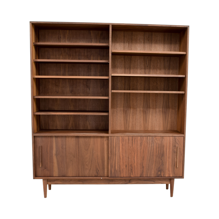Room & Board Room & Board Grove Bookcases with Storage used