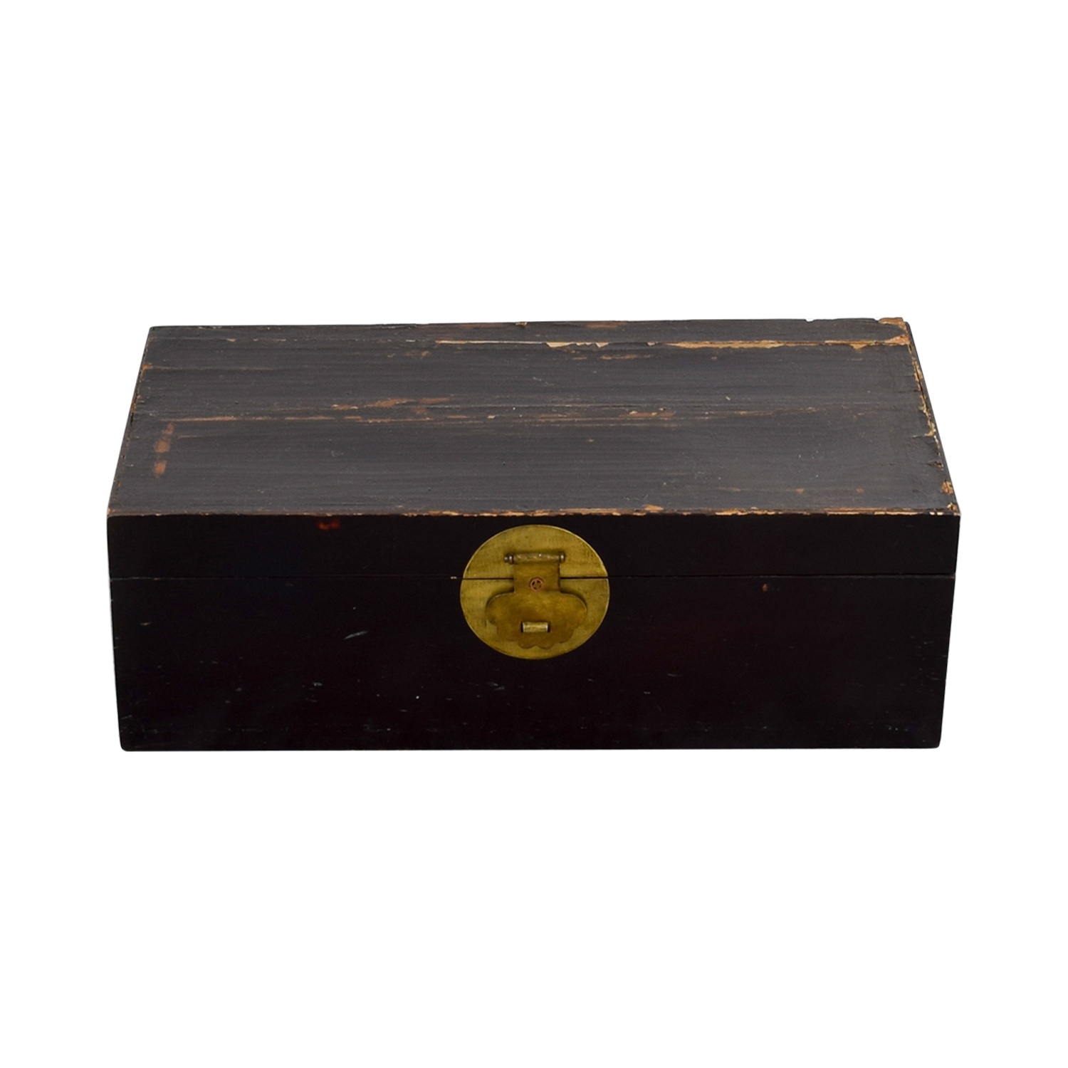 buy Antique Chinese Hope Chest with Brass Accent online